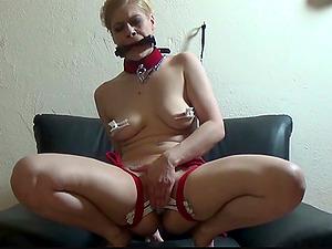 German femdom blonde fetish movie