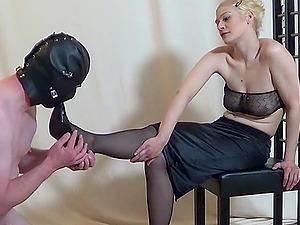 German foot erotic from femdom