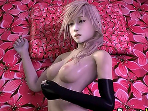 Stunning sluts and other video game babes enjoy deep pussy ramming