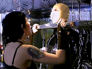 There is nothing better for Lady Kandy than a role play and BDSM