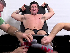 Strong Trenton Ducati is ready for sex games with his gay friends