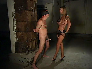 Dominant Brooke Banner wants to punish her lover with bdsm experience
