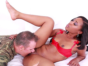 after pussy licking Chanell Heart is ready for the best orgasm ever