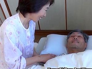 Asian Japanese Cougar Michiko Likes Fuck Her Men