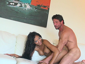 Perfect body Sadie Santana wants to show her amazing fucking skills
