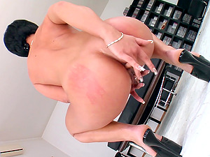 Horny Cassy adores to blow a boner while other guy fucks her