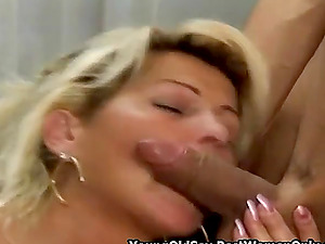Hairy Hot Mature Fucks Young Lover At Home