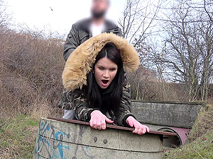 Outdoor hardcore fuck is all that Victoria Bellisima wants to do