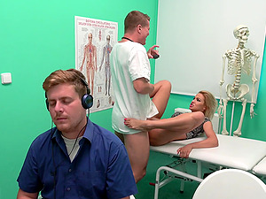 Cherry Kiss adores dick eating and hard sex in the hospital room
