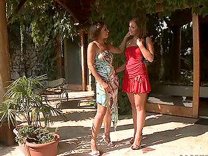 Kathia And Szilvia Have A Hot Lesbo