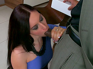 Amazing Interracial With A Big Black Manstick For Mira Sunset