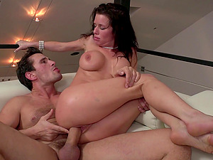 After drooling on a fat friend's cock Veronica Avluv got her pussy fucked