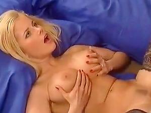 Horny German Blonde Fucks Her Man At Home