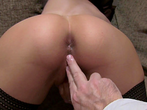 Instead of an interview Jamie Ray gets her pussy banged by a dude