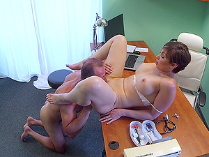 Yasmin Scott gets fucked by hard doctor's dick on the hospital's bed