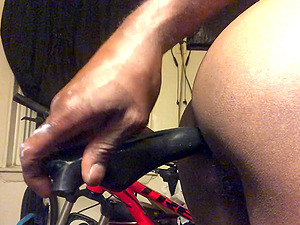 Hot gay in sexy lingerie tries new anal toys