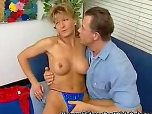 Another Desperate German Housewife Begs To Fuck