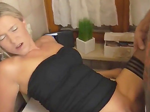 Deutsch blonde wife creampied auf washmashine