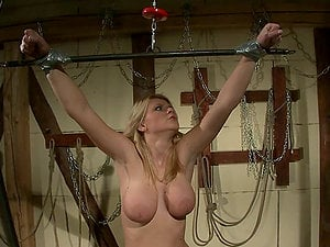 Katy Parker and Natasha Brill have fun Domination & submission games in a basement