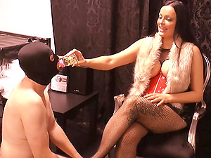 Deutsche Domina bdsm hardcore session