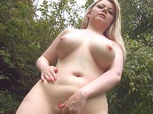 Dani Maries Big Boobs And Ass Antics Outdoor