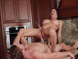 Hot Alexis Fawx is ready for hard sex with her friend in many poses
