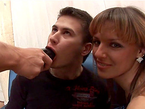 Kinky threesome experience can't be better for Olga Barz and her friends