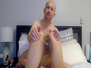 Raunchy and randy couple and their lascivious and risque performance live in cam