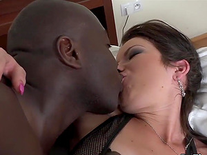 Sexy swinger wives enjoy their assholes filled with big black dicks