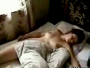 Hot Sleeping With With Fledgling Nubile Black-haired