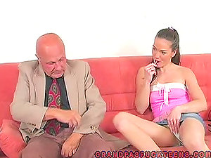 Nubile Cutie Is Fucked By Old Man