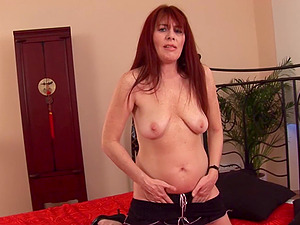 Redhead Slut Enojoying Boyfriend's Cock