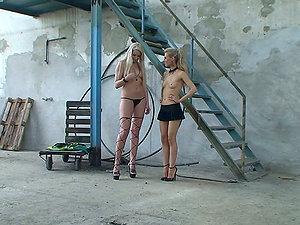 Backstage: Girl/girl Broads Getting Kinky