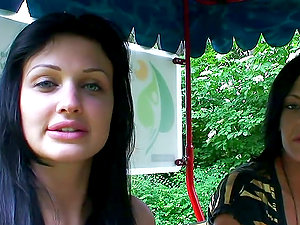 a day out with porno starlet Aletta ocean