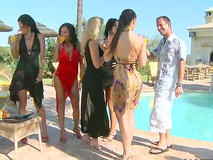 Soiree By The Pool with Hot Chicks