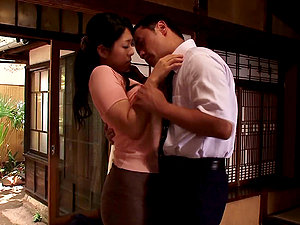 Loving Japanese Wifey Sewaka Hayase Pleasing Her Hubby