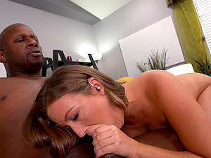 Black dude with a massive dick fucks all holes of big butt Febby Twigs