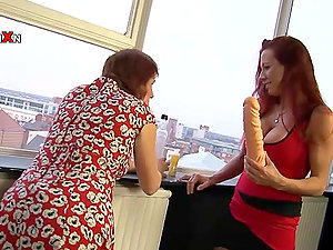 Big Fucktoys and Entire Knuckles Inwards Faye Rampton and Wendy Taylor's Vaginas