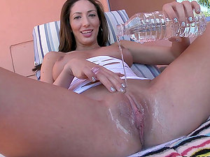 Big-chested Honey Angelica Saige Titty Fucks a Big Manstick Before Assfuck
