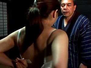 Erika Aisaki gets fiercely fucked by her hubby indoors