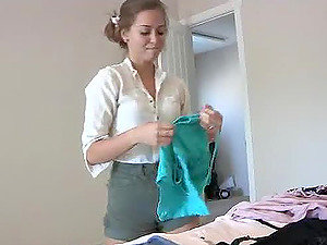 Would You Like To Observe Me Attempting On Clothes?