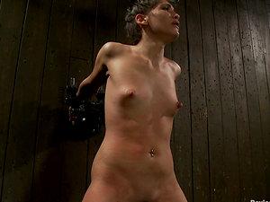Crazy Nip Torment and Restrain bondage in Sadism & masochism Vid with Jade Indica
