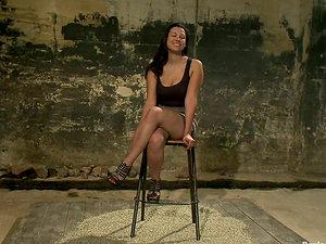 Tantalizing Dana Vixen's Nips in Restrain bondage Bondage & discipline Pornography Vid