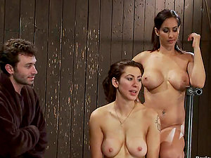 Huge-chested Doll and Man Join Compels to Predominate and Fuck Princess Donna Dolore
