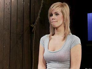 Tara Lynn Foxx luvs being tied up in a dirty basement