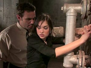 Sasha Grey loves being tantalized and fucked in terrific Sadism & masochism clip