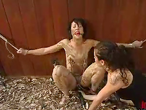 Dylan Ryan luvs mud on her assets and a faux-cock in her cunt