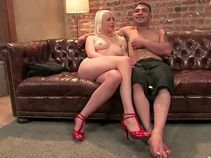 Manstick Torment in Restrain bondage Female dom Vid with Lorelei Lee