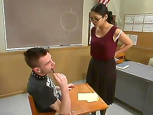 Richie Rennt gets tied up and abased by his female educator