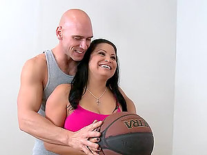 Big Tit Whore Sophia Lomeli Hot Fuck With Jizz In Her Mouth